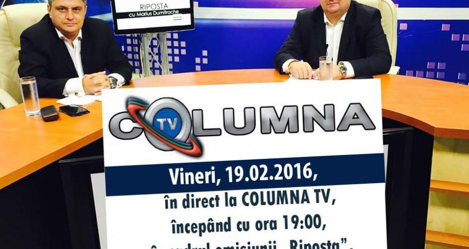 Riposta, invitat Primar Marius Caraveteanu